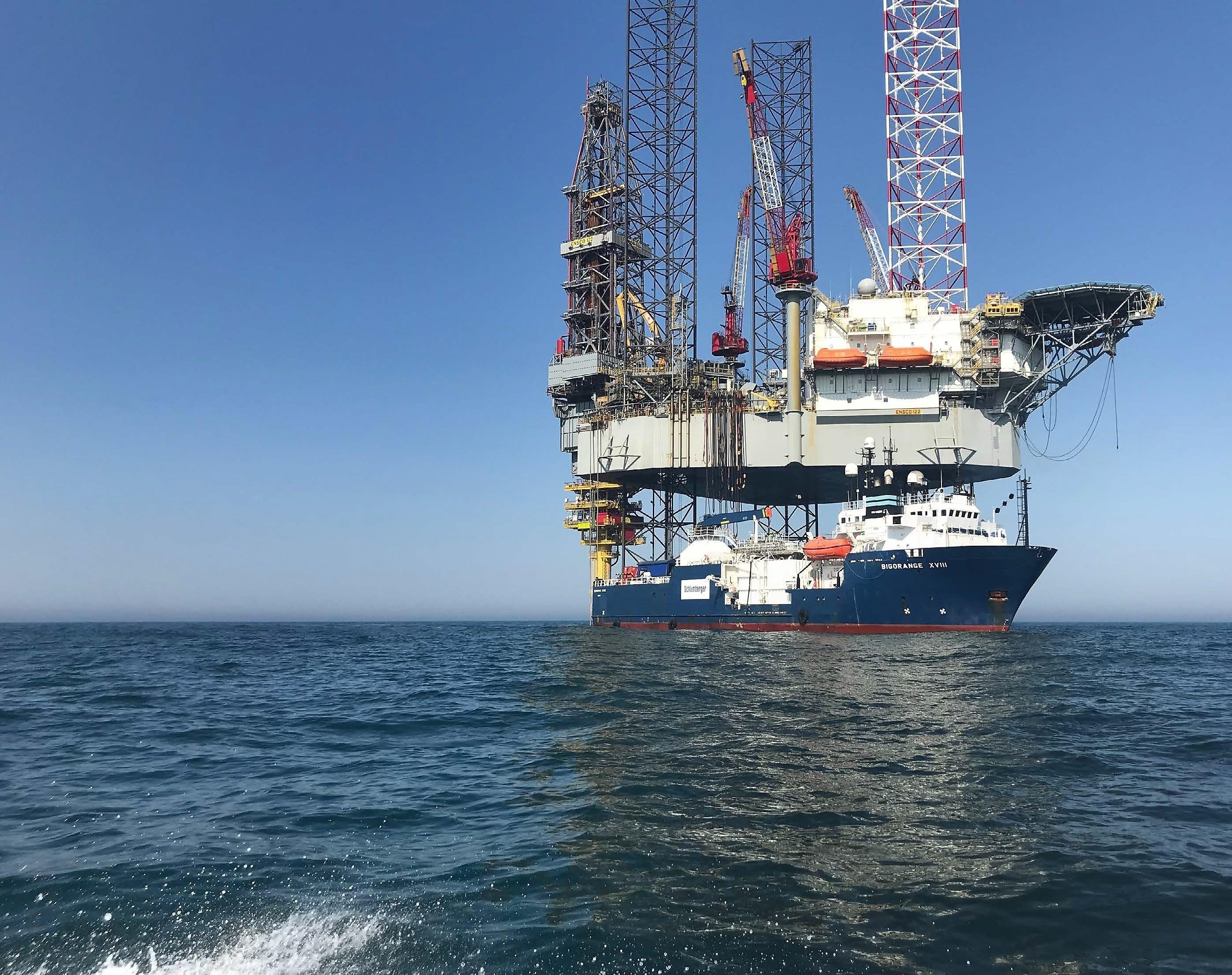 Platform in Noordzee produceert eerder dan gepland